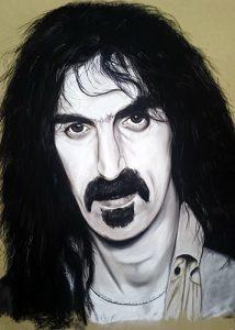 Portrait Zappa02_Pastel_JeanMarie_Polet_65X50