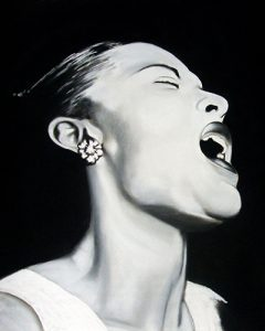 Portrait Billie Holiday