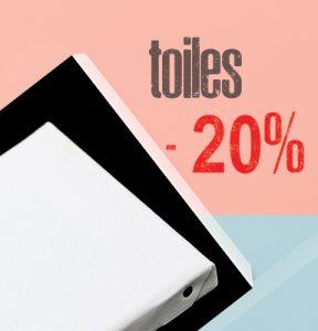 Toiles 100% lin